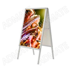 Outdoor A-Board Poster Stand Pavement Sign