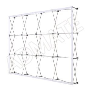 4x3 Velcro Fabric Pop Up Stand