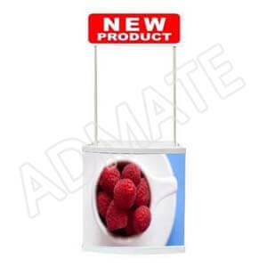 PVC promotional counter from Admate