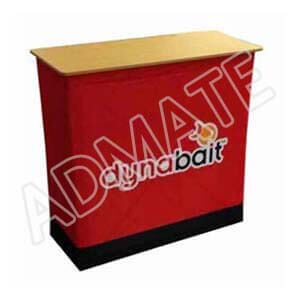 Portable Fabric Pop Up Counter