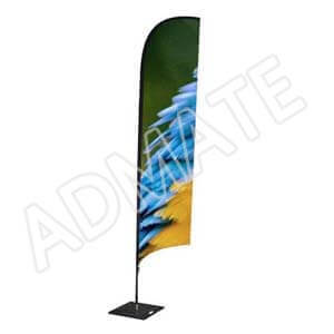 Admate feather flag