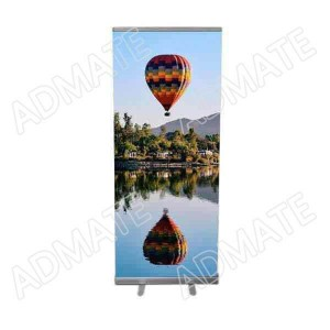 Roll up banner from Admate