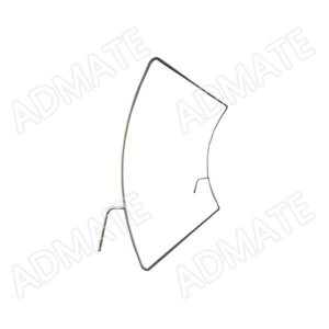 Curved Stretch Fabric Backdrop Stand