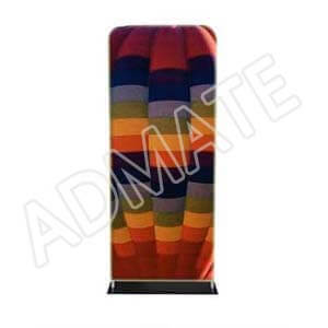 Admate Flat Fabric Banner Stand
