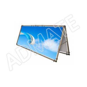 Outdoor Barrier Banner From Admate Displays
