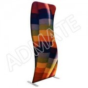 AM-T025 S Shape Banner Stand
