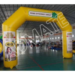 Inflatable arch from Admate Displays