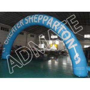 Inflatable arch gate from Admate Displays