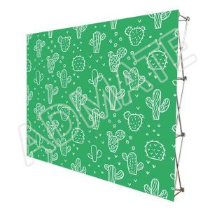 10x8 Stretch Fabric Pop Up Displays Backdrop Wall For Trade Show Booths